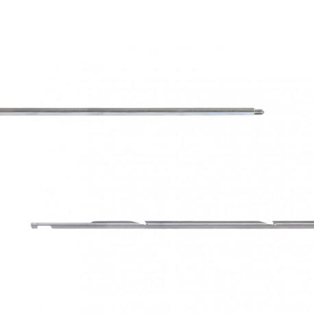 FLECHA ROSCA 7mm ACERO ZINCADO Culatta moldeada - M6X1