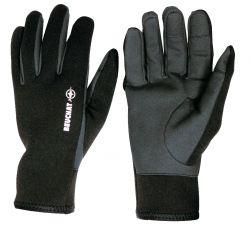 SIROCCO SPORT GLOVES PROTECT 2,5 MM - AMARA LEATHER - BLACK/GREY