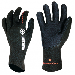 GLOVES SIROCCO ELITE 3MM CH - SMOOTH - BLACK