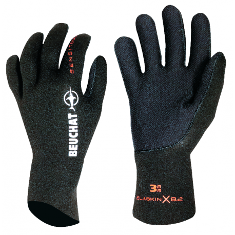 GUANTES SIROCCO ELITE 3MM CH - LISO - NEGRO