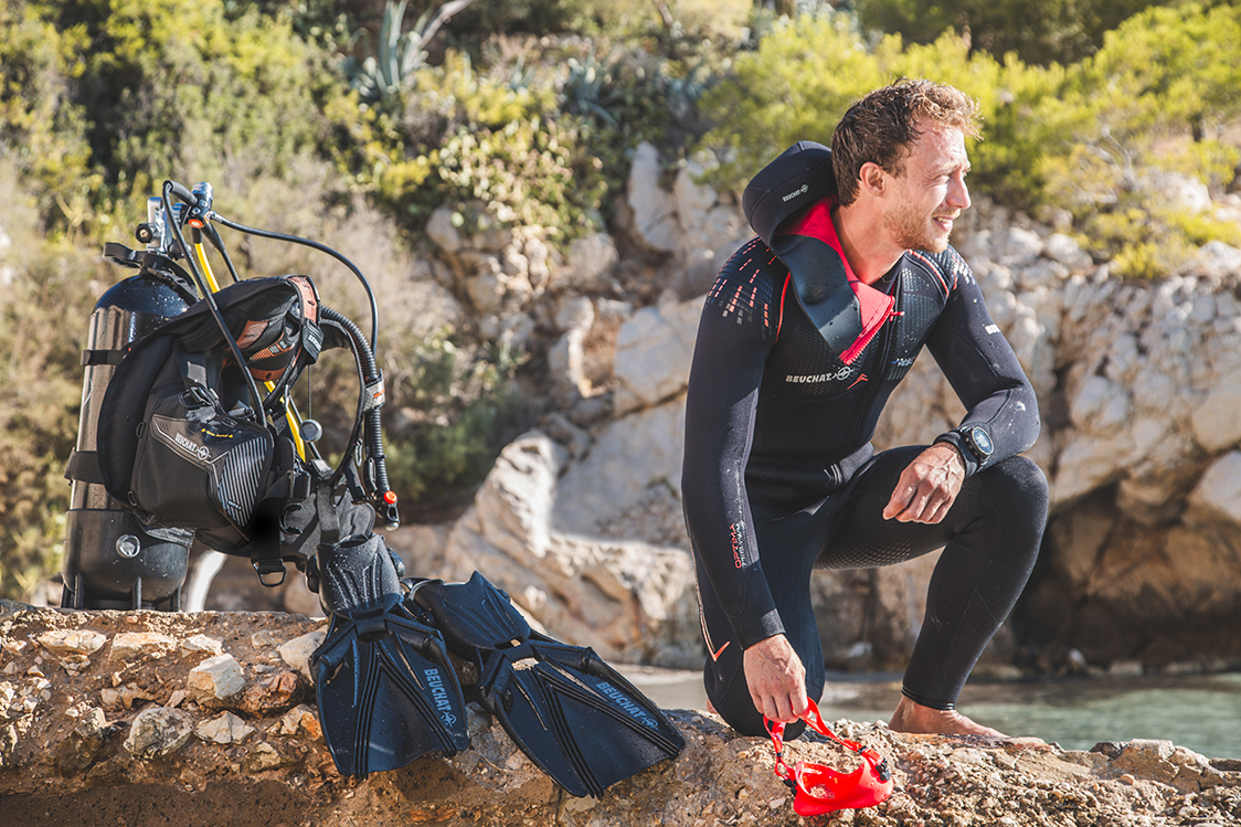 Combinaison de plongée sous-marine Optima cagoule