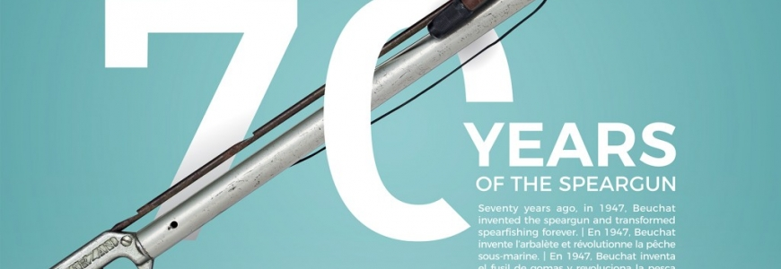 1947-2017 : 70 years of underwater speargun